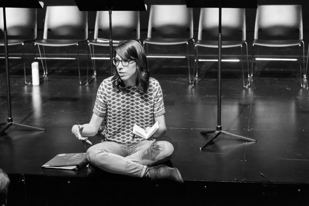 "Texas native Ashley Brooke Monroe returns home with new play ""Off Your Feet."" Photo: ashleybrookemonroe.com"