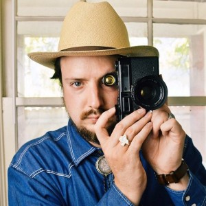 Driensky playing with his camera on vacation. Photo: Exploredinary