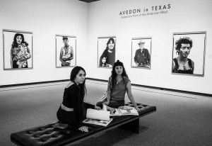 Reyes and Dallas artist Shamsy taking in the Richard Avedon exhibition at the Amon Carter. Photo: Exploredinary
