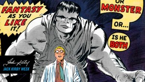 Digital image of Jack Kirby's 'The Incredible Hulk' #1 comic. Photo: Marvel Comics
