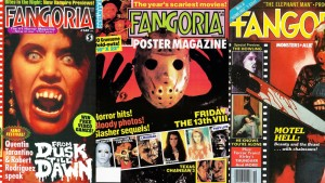 Issues of the most prominent horror publication in the world. Photo: via Fangoria Magazine.