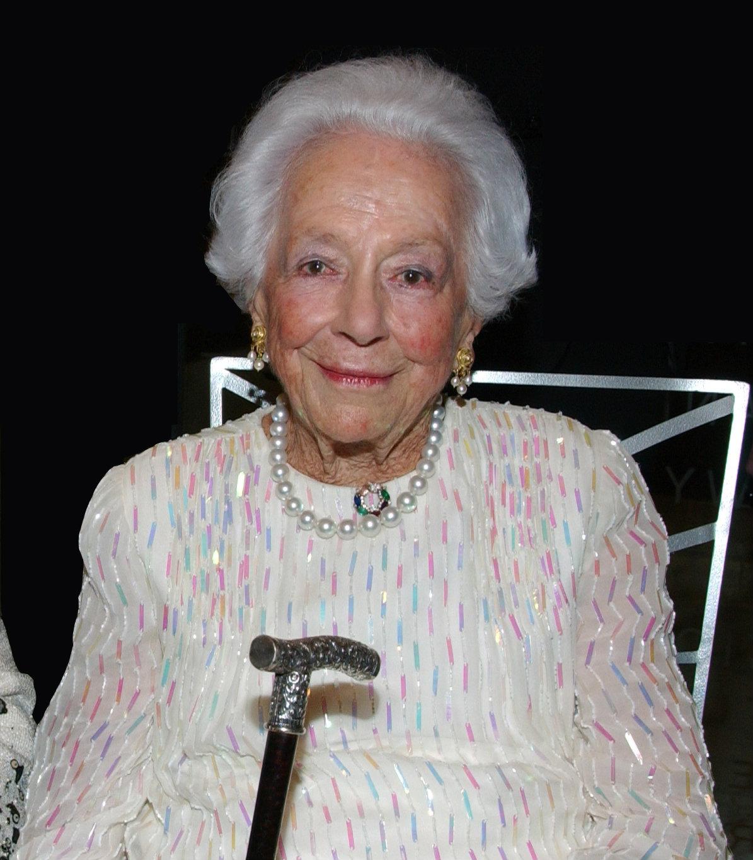 EDIT Margaret McDermott 2007 Dinner honoring Margaret McDermott - Photo by Kristina Bowman