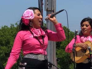 Mariachi Rosas Divinas performing at Fort Worth's Holy Name Church. Photo: Hady Mawajdeh
