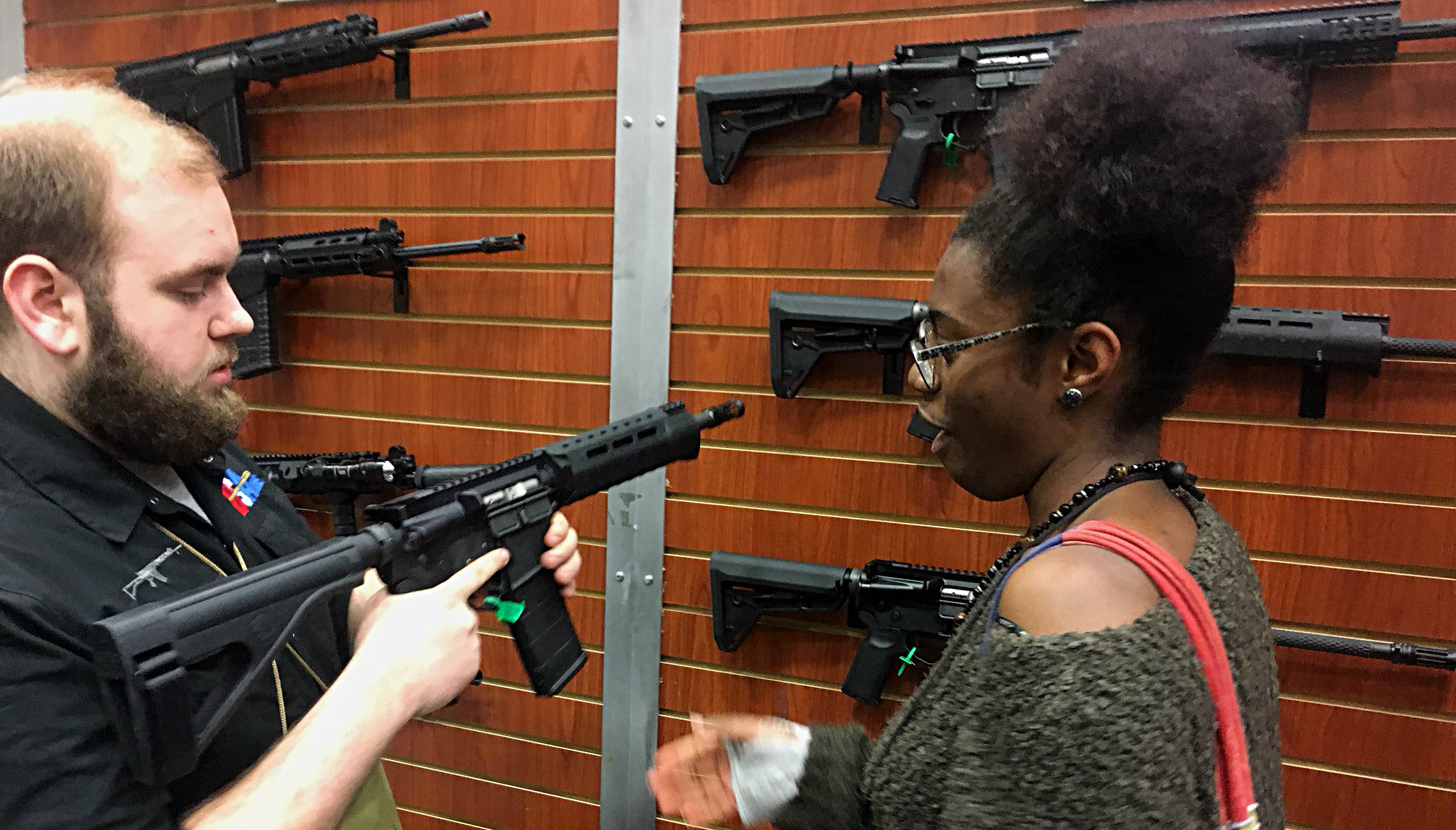 Trinity Gordon and the AR-15