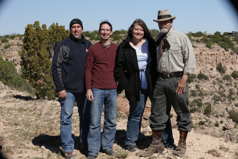 Film Crew Palo Duro Canyon Courtesy Marla Fields Productions