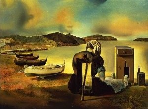 """The Weaning of Furniture-Nutrition"" by Salvador Dalí"