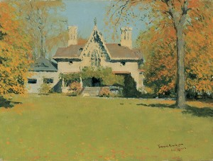 Frederic Remington, Endion (Remington's Home at New Rochelle), 1908.