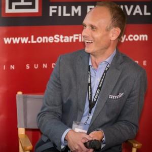 Lone Star Film Fest director Chad Mathews.