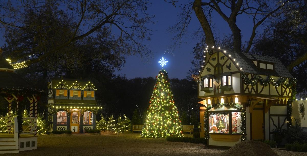 "Image result for World Premiere: The Christmas Village (Dallas Arboretum & Botanical Garden)"""