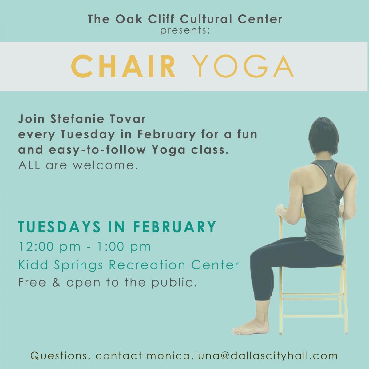 Chair Yoga Art Seek Arts Music Culture For North Texas