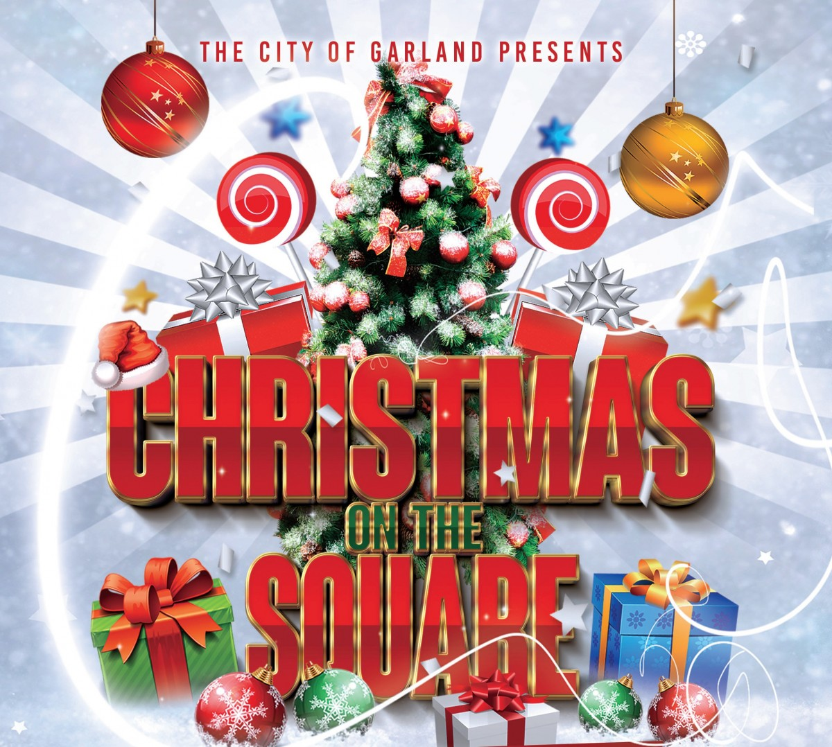 The City Of Garland Presents Christmas On The Square Art