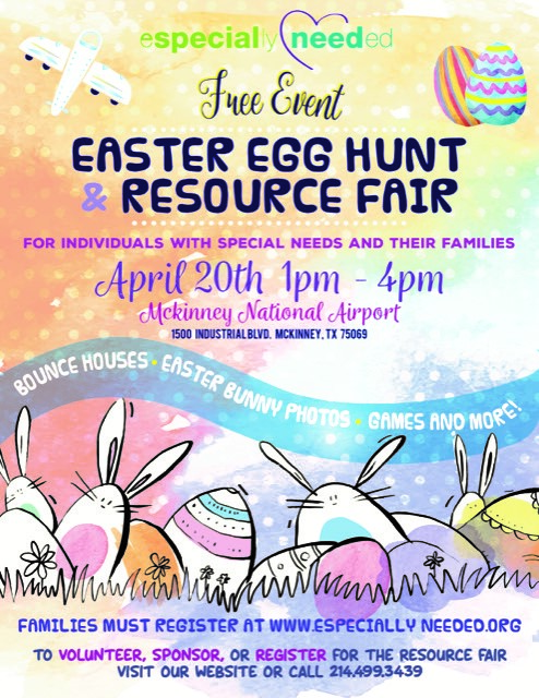 Especially Needed Easter Egg Hunt for Individuals with Special Needs