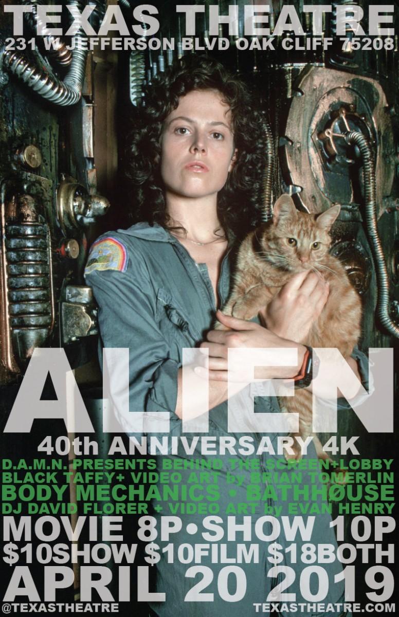 Alien: 1979 4k Restoration Screening + DAMN presentation