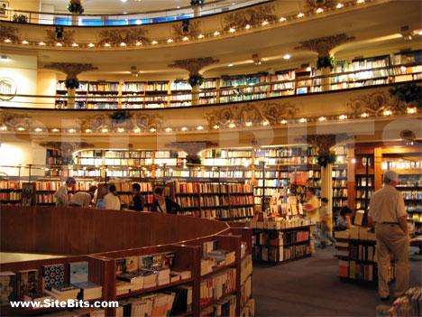 El Ateneo bookstore in Buenos Aires