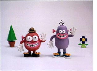 Pib & Pog animated video characters