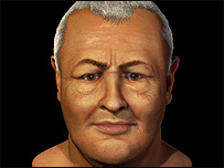 Johann Sebastian Bach's face, according to the Centre for Forensic and Medical Art