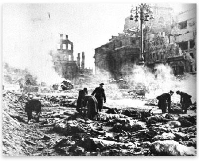 Dresden after 1945 firebombing