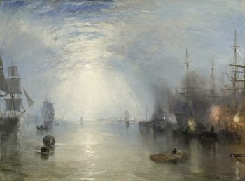 Keelmen heaving in coals by night, JMW Turner