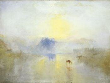 Norham Castle, Sunrise, by JMW Turner