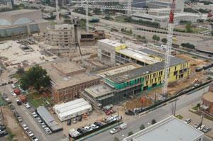 Booker T. Washington High School nearing completion