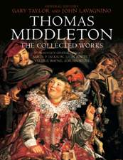 Thomas Middleton, Collected Works