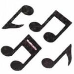 Musical notes — doobey-doowop