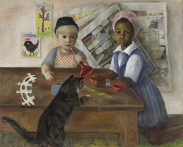 "Dickson Reeder, ""Conversation Piece,"" Amon Carter Museum"