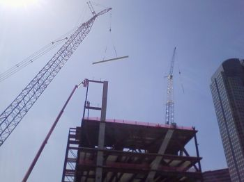 topping out the Wyly