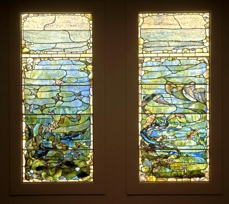 A set of Tiffany Windows