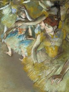 degas, Ballet Dancers on the Stage