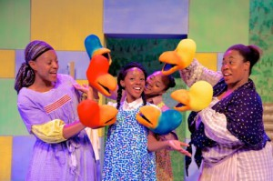 Escape the heat with Jubilee Theatre's Mirandy and Brother Wind. (Photo: Jubilee Theatre)