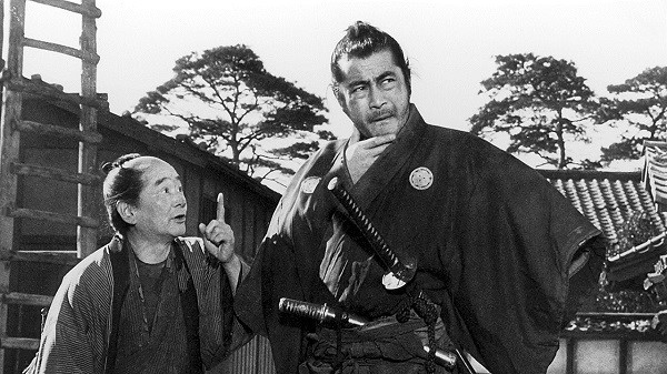 Kurosawa's Sanjuro was one of the classics up on the big screen in El Paso.