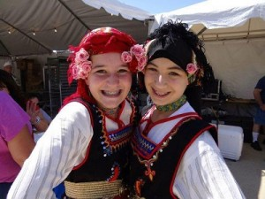 "Say ""Opa!"" at the Greek Food Festival of Dallas. (photo Greek Food Festival of Dallas"