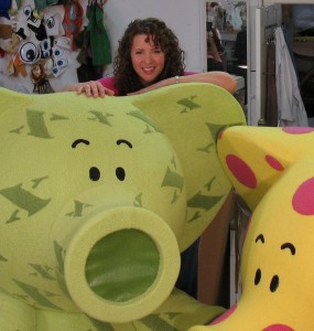 Kathy Kreuter (Puppet Designer & Fabricator)