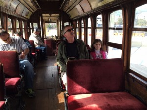 """Rosie"" was the name of the trolley we chose to ride. (Photo: Wynn Powell)"
