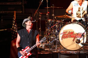 Ted Nugent is scheduled to appear with Greg Abbott, who's running for governor. (Doug James / Shutterstock.com)