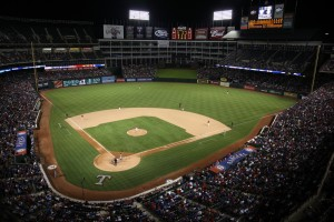 (Some say Globe Life Park in Arlington needs a retractable roof./Shutterstock)