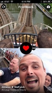 New app Frontback.