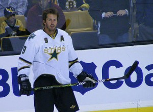 The Dallas Stars retired Mike Modano's jersey over the weekend. (Credit: Dinur Blum/Flickr -- www.flickr.com/photos/dinur/)