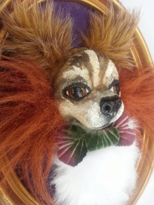 Get a 3-D portrait of your pooch at Kettle Art this Saturday. (photo: Darlene Schaper)
