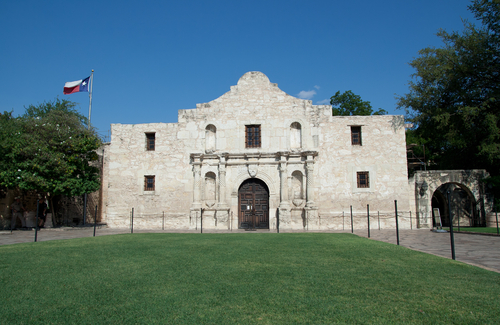 Phil Collins is donating his Texas Revolution collection to the Alamo. Credit: Shutterstock.com