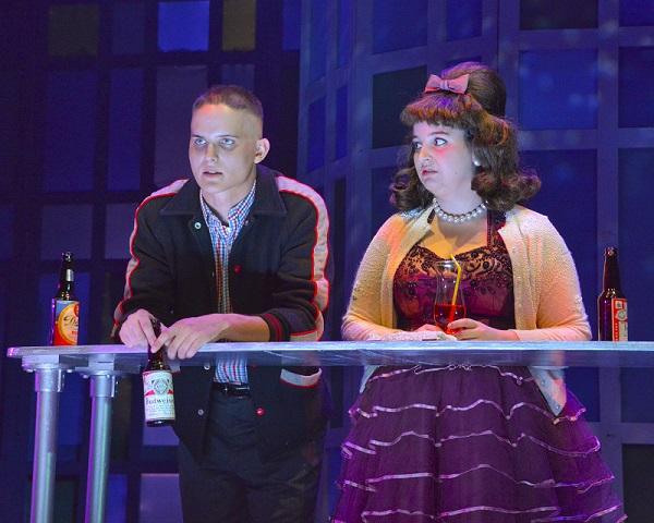 Zak Reynolds and Juliette Talley Photo: WaterTower Theatre