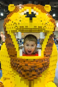 Walk among the LEGOS at the LEGO KidsFest this weekend.