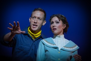 Christopher J. Deaton as Ulysses and Kristen Lassiter as Penelope. Photo: James Jamison