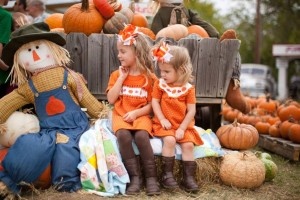 Meet up with a friend or two while searching for the perfect pumpkin. Photo Mainstay Farms