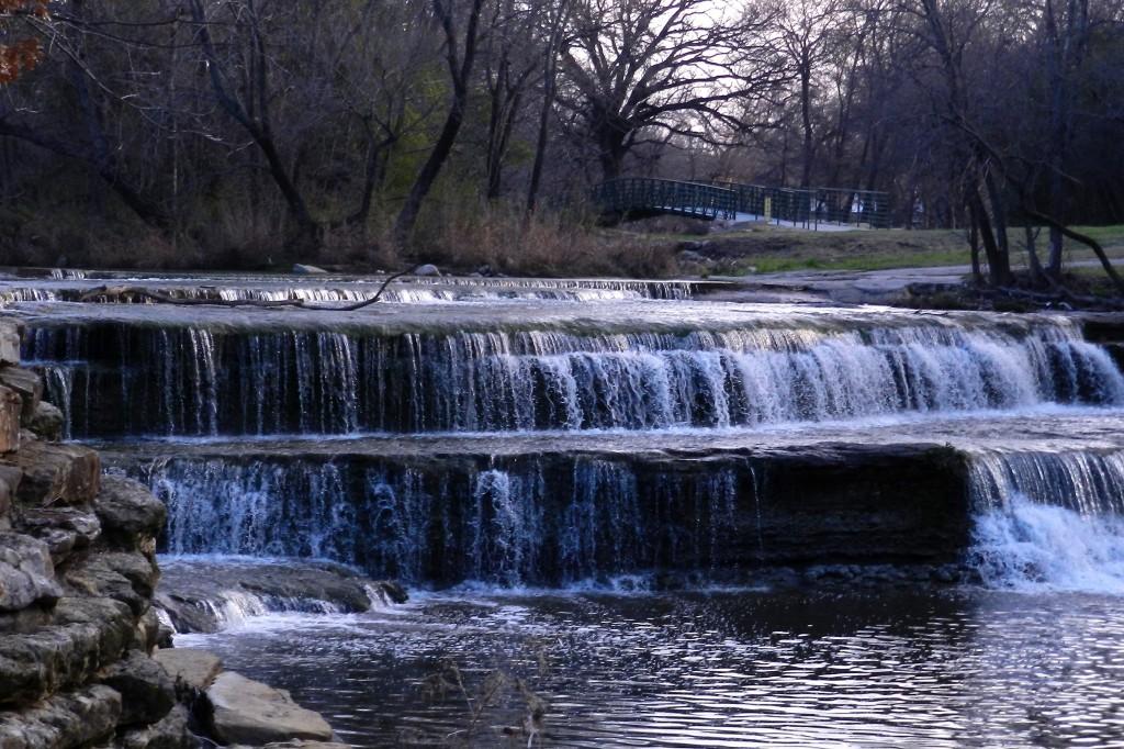 trinity water fall