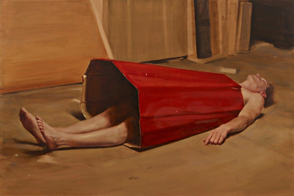 Micha+½l Borremans_The Devil's Dress