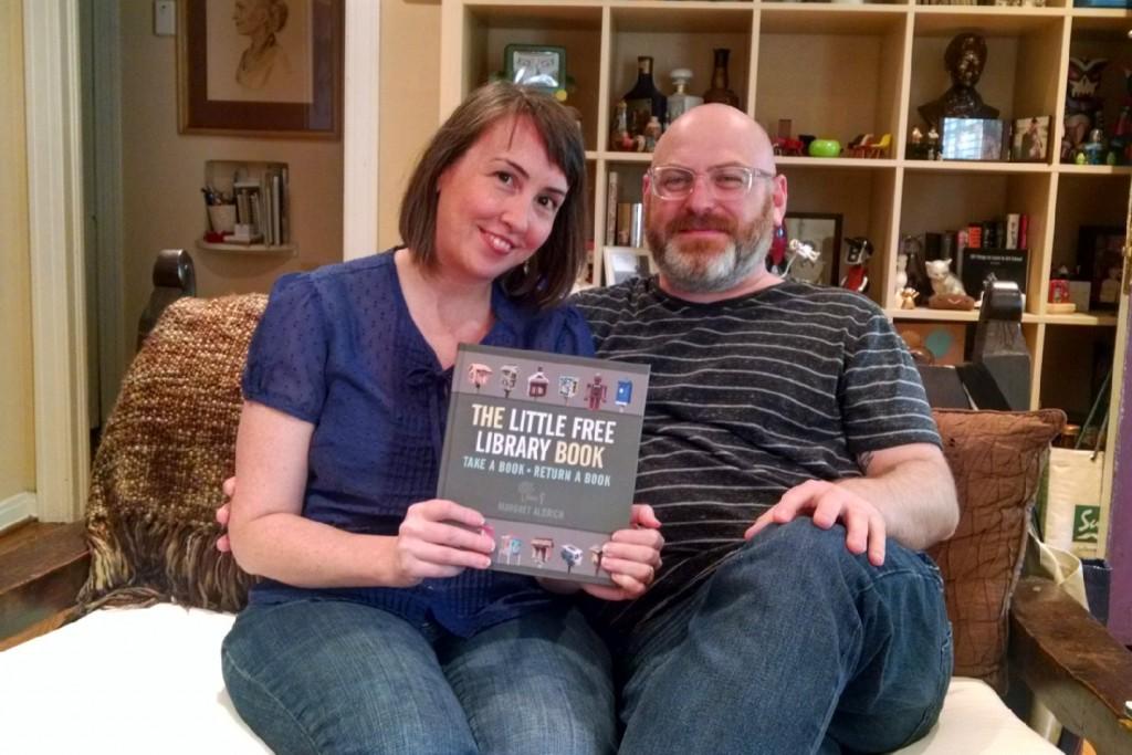 Amy Walton and James Garrett in their Oak Cliff Home.