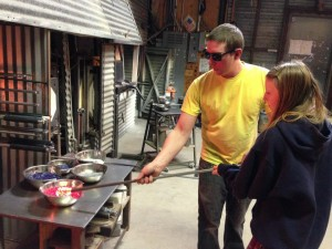 A homemade gift of a different sort. Photo: Vetro Glassblowing Studio