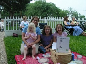 Win a prize for the most creative picnic basket. Photo: A.W. Perry Homestead and Museum